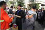 安溪酒店2013年消防演习活动
